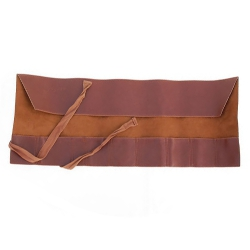 Leather tool roll, 260x600mm