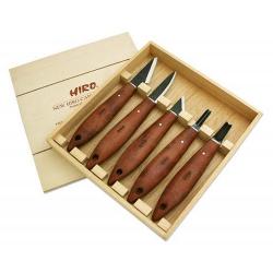 Set de couteaux, Acier forgé, 160-190mm