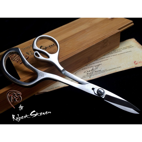 Black Scissors, Stainless steel, 201mm