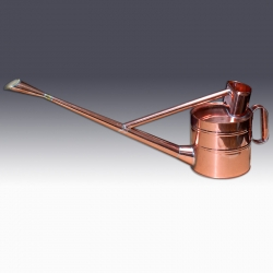 Watering can (British Style), Copper, 6 Liters