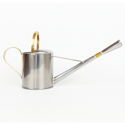 Watering can, Stainless steel, 1 Liter